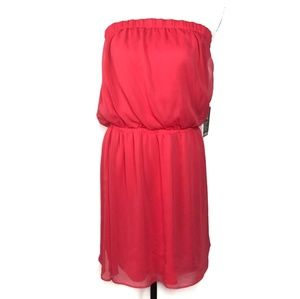 Express Pink Sleeveless Dress Size Large